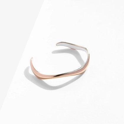 MADEGREY - Flow Cuff Bracelet | Rose Gold