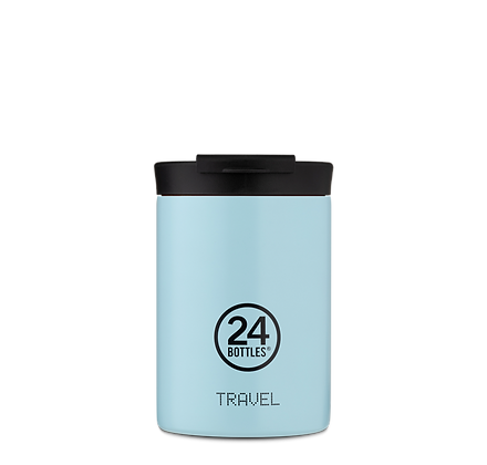 24BOTTLES - Travel Tumbler 350ml - Cloud Blue