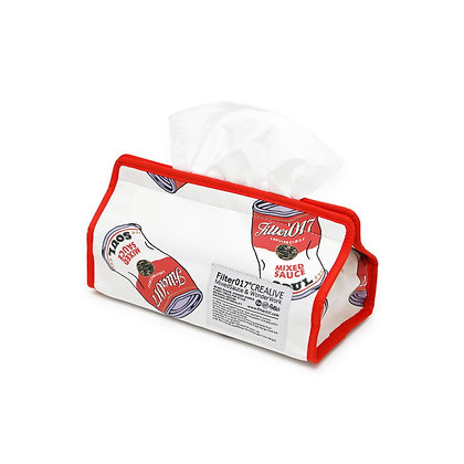 Filter017 Pattern Tissue Cover - Soup Can Pattern