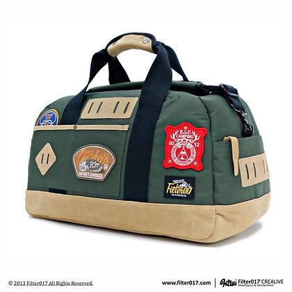 B. S. F. SOLIDARITY TRAVELING BAG (Green)