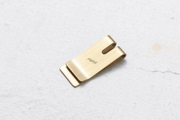 Playback - Brass Money Clip