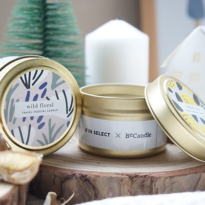 BECANDLE X B'IN SELECT -Travel Candle