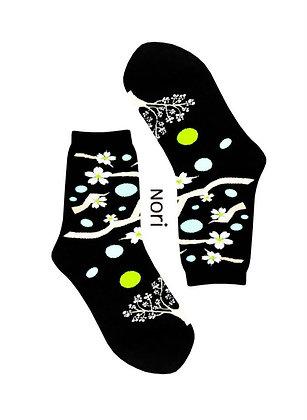 copy of Nori - Japan Sakura Socks - black