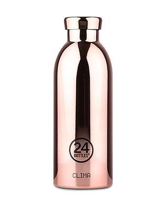 24 BOTTLES - Clima Bottles 500ml - Rose Gold