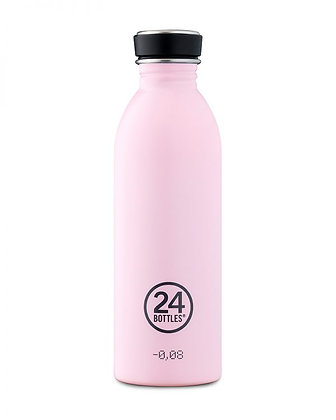 24 BOTTLES - Urban Bottles Collection 500ml - Candy Pink