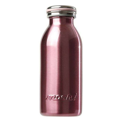 MOSH - Stainless Steel Bottle 350ml - Pearl Pink