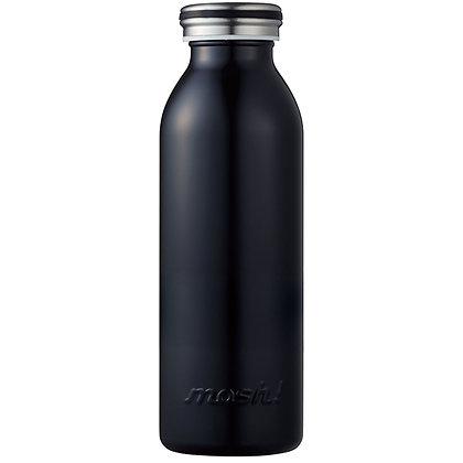 MOSH - Stainless Steel Bottle 450ml - Black