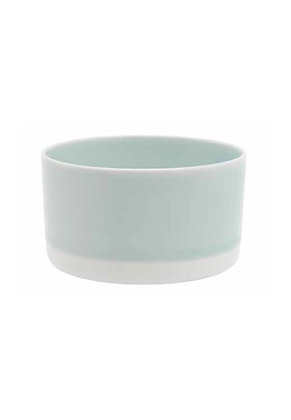 1616 Tea cup - light blue & white