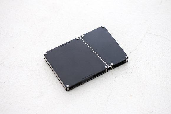 Playback - Aluminium Card Case - Black /Silver