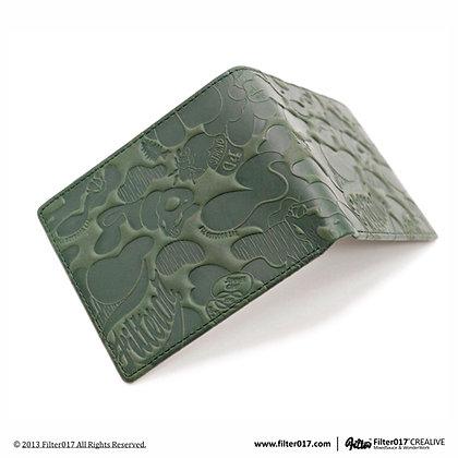 Land Of Lost Camo Wallet Vintage (Dark Green)