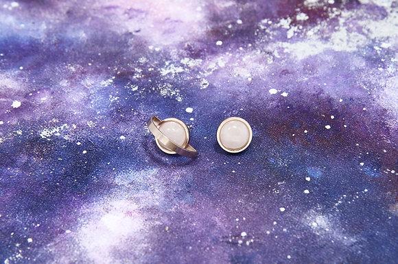 AGARIC GARDEN - 港澳限定版 Cosmo Journey 宇宙水晶耳環