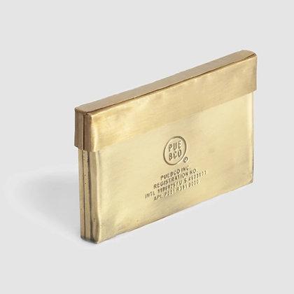 PUEBCO INC. - Brass Card Case