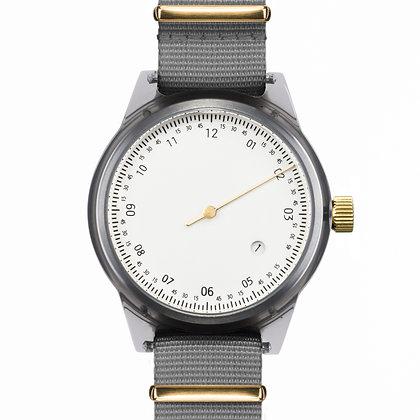 Squarestreet - SQ03 Minuteman, One Hand, Grey (Offwhite/ Grey)