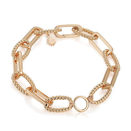 Love By The Moon - GOLD LINK BRACELET