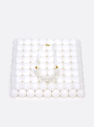 ZO-EE - WHITE BLOWING UP NECKLACE