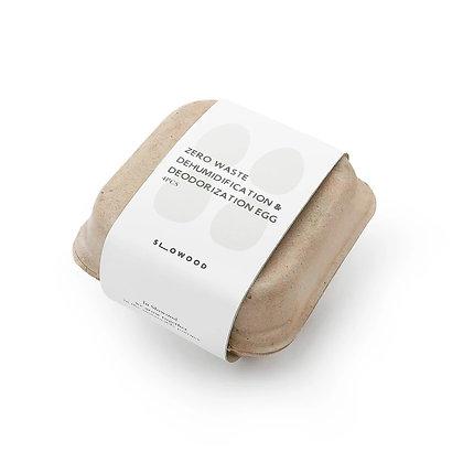 Slowood Zero waste dehumidification & deodorization egg (4pcs/pack)