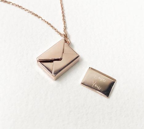 ShAnho - Small Envelope Necklace
