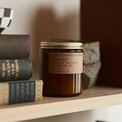 P.F. Candle Co. - Teakwood & Tobacco (7.2 oz)