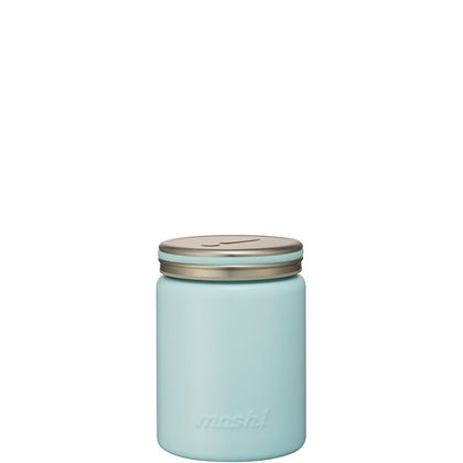 MOSH -  Stainless Steel Thermo Food Pot 420ml - Turquoise