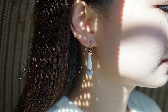 Nach - RRABBIT EARRINGS J250