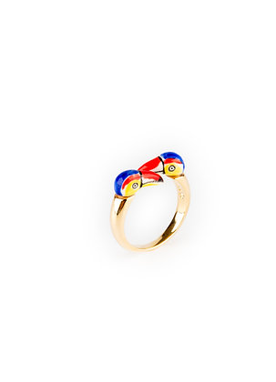 NACH BIJOUX - Toucan Castelbajac Paris x Naxh Face to Face Ring