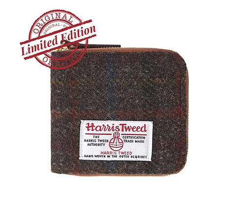 HARRIS TWEED WALLET - D.BROWN