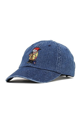 Filter017 Fishing Badger Ball Cap - Navy