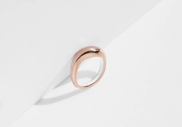 MADEGREY - Flow Ring | Rose Gold