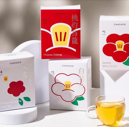 【椿華堂】原片茶葉 八個茶包入