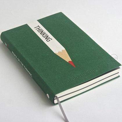 九口山 -32開鉛筆系列橫線內頁筆記本-05 (綠PENCIL DO THE THINKING)