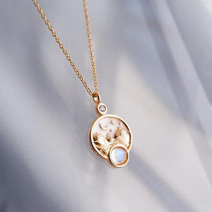 DREAMNICKER - Light on my path necklace(Mini size)