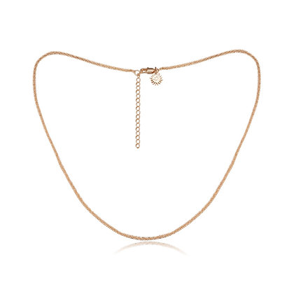 Love By The Moon - GOLD CHOKER CHAIN