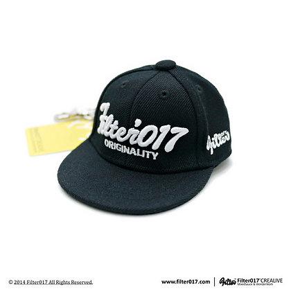 Mini Cap Keyholder 迷你全封帽鑰匙圈 / 黑