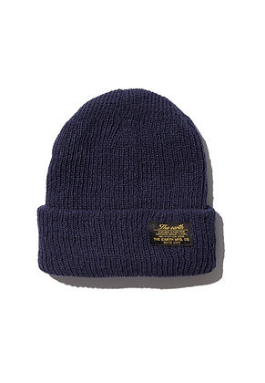 The Earth - OG BEANIE - NAVY