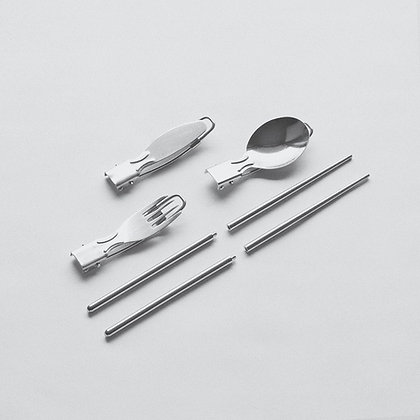 Portable Stainless Steel Cutlery Set - Slowood