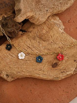NACH BIJOUX - Mini Flowers Necklace U219