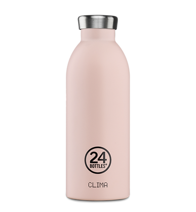 24 BOTTLES - Clima Bottles 500ml - Dusty Pink