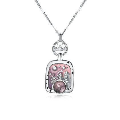 DREAMNICKER - Genie in a bottle necklace(silver)