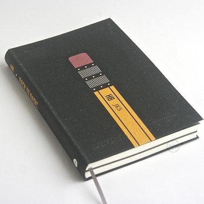 九口山 - 原創潮流32開鉛筆系列橫線內頁筆記本 - 03 (BACK TO BASIC)