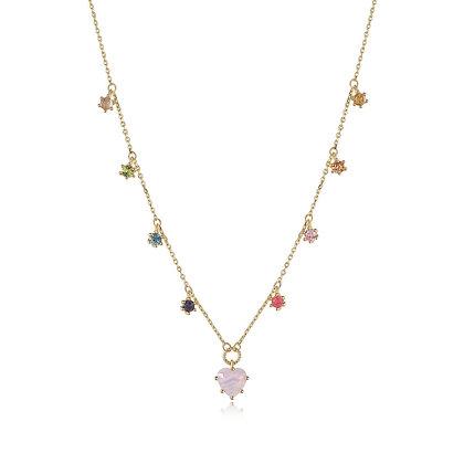 DREAMNICKER - Rainbow Gemstone Necklaces
