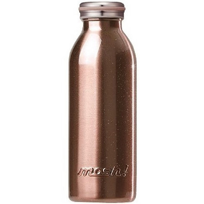 MOSH - Stainless Steel Bottle 450ml - Pearl Gold