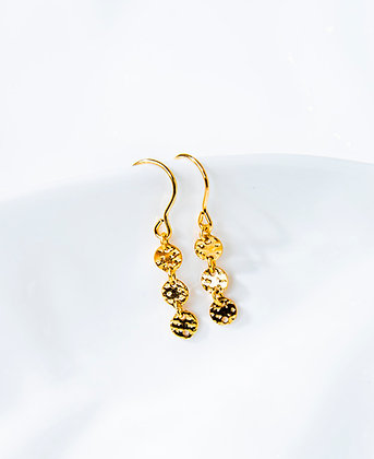 Adam Minusculave - A DAMN AVE COLLECTION | 14K GOLD FILLED DOTTED MINI EARRINGS