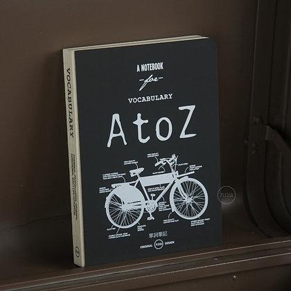 九口山 - 原創32開document生活主題系列256page單詞筆記本 - Bike