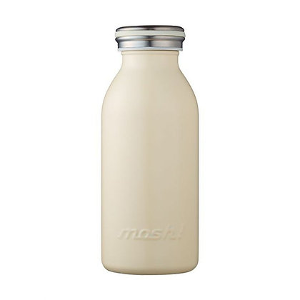 MOSH - Stainless Steel Bottle 350ml - Ivory