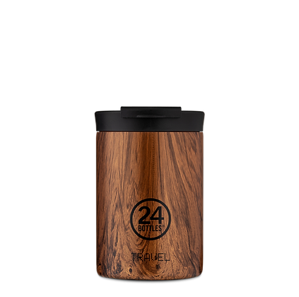 24BOTTLES - Travel Tumbler 350ml - Sequoia Wood