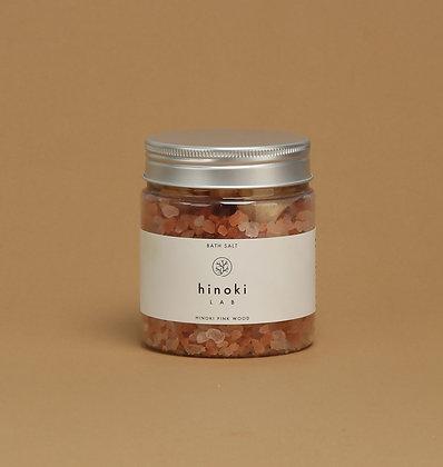 hinoki LAB - Bath Salt 300g (Pink Wood)