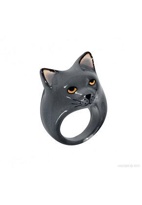 Nach - Grey cat ring