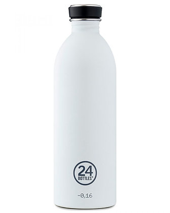 24 BOTTLES - Urban Bottles 1000ml - Ice White