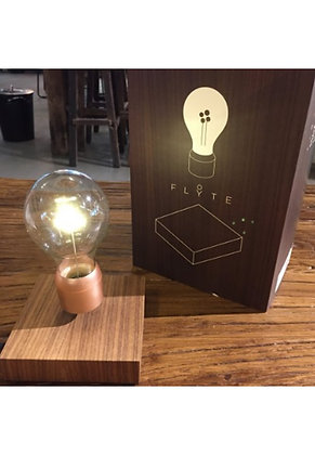 FLYTE Light - Buckminster (Walnut / Copper Bulb)