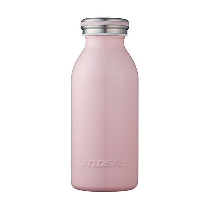 MOSH - Stainless Steel Bottle 350ml - Peach